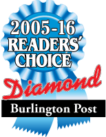 2005-16 Readers' Choice Diamond Award | Burlington Post