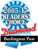 2005-17 Readers' Choice Diamond Award | Burlington Post